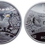 Нацбанк випустить 20 тис. монет «Рік півня»